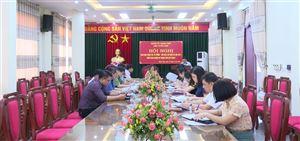 Giao ban công tác Khối Tư tưởng - Văn hóa quý I, triển khai nhiệm vụ trọng tâm quý II năm 2021