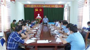 Hội nghị giải phóng mặt bằng dự án Wyndham Thanh Thủy tại xã Bảo Yên