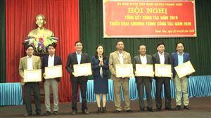 UB MTTQ huyện Thanh Thủy tổng kết công tác năm 2019