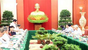 Tổng Bí thư, Chủ tịch nước chủ trì phiên họp tiểu ban văn kiện Đại hội XIII của Đảng