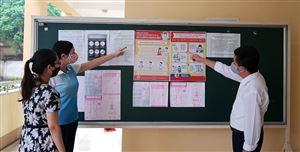 Thanh Thủy yêu cầu các trường học thực hiện phòng, chống dịch Covid-19 trong tình hình mới