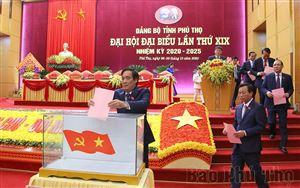 Ngày làm việc thứ ba, Đại hội đại biểu Đảng bộ tỉnh lần thứ XIX