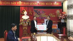 Lãnh đạo huyện Thanh Thủy thăm, tặng quà Tết Trung tâm Điều dưỡng người có công tỉnh Phú Thọ