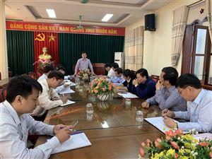 Ủy ban MTTQ huyện kiểm tra, rà soát quy trình tổ chức bầu cử đại biểu HĐND các cấp nhiệm kỳ 2021-2026.