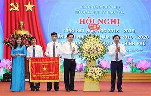 Ngành Giáo dục  đón nhận Cờ thi đua của Thủ tướng Chính phủ và triển khai nhiệm vụ năm học 2019 – 2020
