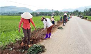 Phụ nữ Thanh Thủy: Góp sức xây dựng nông thôn mới
