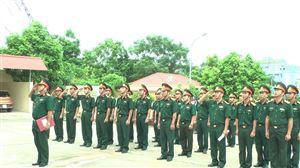 Bộ chỉ huy quân sự tỉnh thanh tra toàn diện công tác quân sự quốc phòng năm 2016 và 6 tháng đầu năm 2017 tại huyện Thanh Thủy