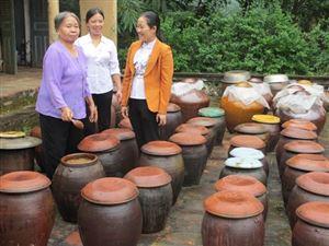 Thanh Thủy xây dựng thương hiệu tương làng Bợ
