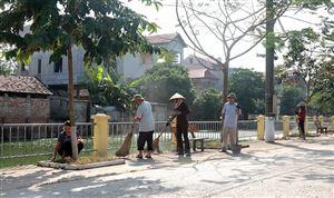 Đồng Trung nâng cao chất lượng nông thôn mới