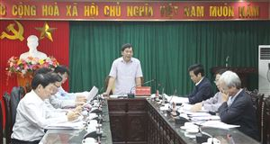 Ban Pháp chế - HĐND tỉnh thẩm tra các báo cáo trình tại Kỳ họp thứ Bảy
