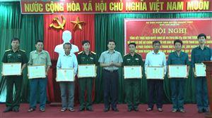 Ban chỉ đạo 24 huyện Thanh Thủy tổng kết thực hiện Quyết định số 49 ngày 14/10/2015 của Thủ tướng Chính phủ