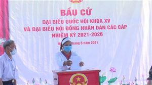 Thanh Thủy hoàn thành bầu cử đại biểu Quốc hội và đại biểu HĐND các cấp, với tỉ lệ 99,99% cử tri đi bỏ phiếu