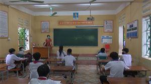 Ngày đầu tiên học sinh THCS, THPT đi học trở lại Nhà trường chu đáo - học sinh an tâm