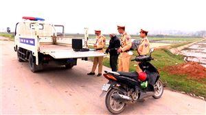 5 ngày nghỉ lễ, tình hình ATGT trên địa bàn huyện được đảm bảo