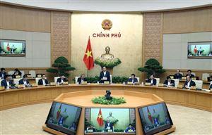 Nghị quyết phiên họp Chính phủ thường kỳ tháng 11/2019