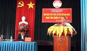 Đại biểu HĐND tỉnh tiếp xúc cử tri xã Đoan Hạ, Hoàng Xá
