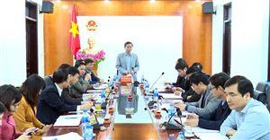 Ban Kinh tế ngân sách Hội đồng nhân dân tỉnh giám sát tại Thanh Thủy