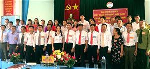 Mặt trận Tổ quốc xã Tu Vũ và Đồng Trung tổ chức thành công đại hội lần thứ Nhất, nhiệm kỳ 2019 - 2024