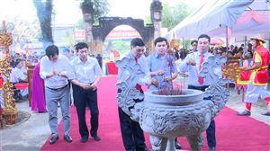 Lễ hội truyền thống Đình làng Đồng Luận năm 2021