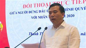 Thanh Thủy tổ chức Hội nghị đối thoại trực tiếp giữa người đứng đầu cấp ủy, chính quyền huyện với nhân dân năm 2020