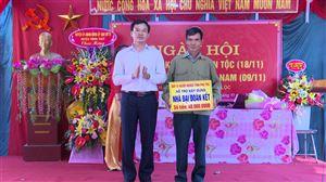 Khu 1 xã Xuân Lộc tổ chức Ngày hội Đại đoàn kết dân tộc và Ngày Pháp luật Việt Nam
