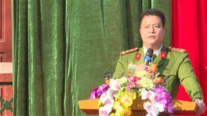 """Trường THCS Bảo Yên tổ chức ngoại khóa tuyên truyền """"Ngày pháp luật Việt Nam"""" năm 2020"""