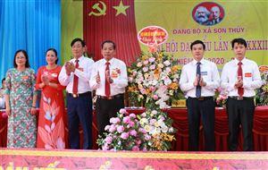 Đại hội Đại biểu Đảng bộ xã Sơn Thủy lần thứ XXXII, nhiệm kỳ 2020-2025