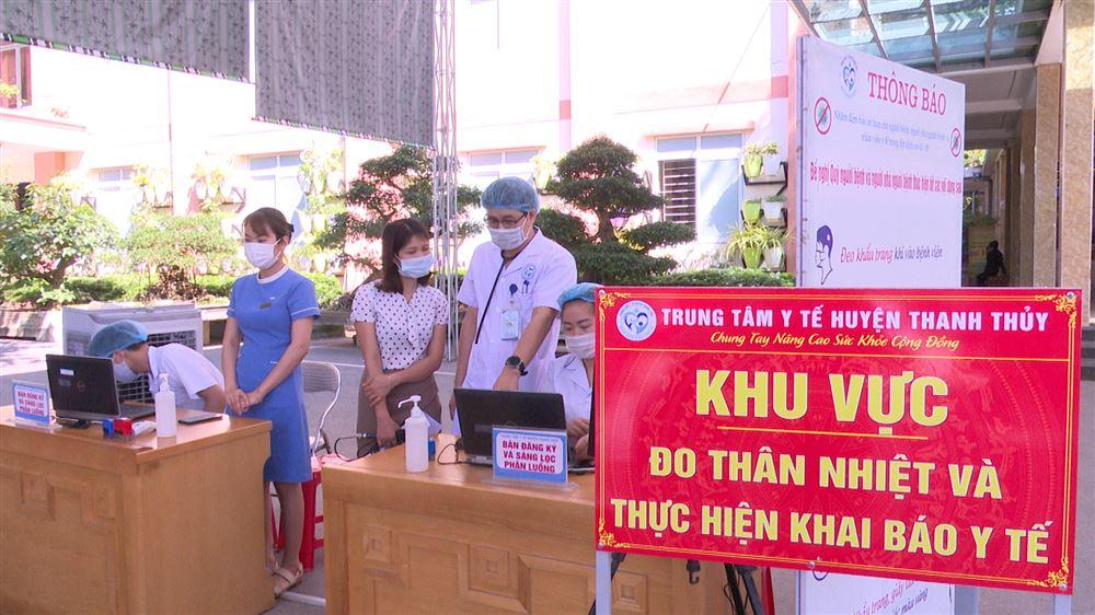 Trung tâm Y tế huyện Thanh Thủy - Bệnh viện an toàn phòng chống dịch Covid - 19