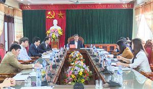 Hội nghị BTV Huyện ủy Thanh Thủy thường kỳ tháng 2 năm 2019