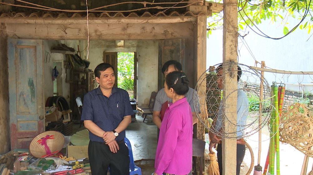 Tạo sự đồng thuận trong giải phóng mặt bằng thi công đường tỉnh lộ 316B tại xã Đào Xá
