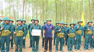 Diễn tập chiến đấu phòng thủ xã Tu Vũ, Đồng Trung năm 2021