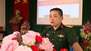 BCHQS huyện tổ chức huấn luyện dân quân Binh chủng Phòng không năm 2021 tại xã Đồng Trung