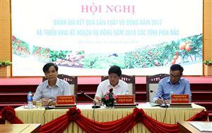 Triển khai kế hoạch sản xuất vụ Đông 2018 các tỉnh phía Bắc
