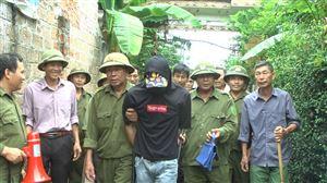 UBND xã Đồng Luận diễn tập vây bắt tội phạm trộm cắp tài sản