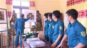 BCHQS xã Đồng Trung thực hiện tốt nhiệm vụ Quân sự Quốc phòng địa phương.