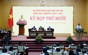 Khai mạc trọng thể Kỳ họp thứ Mười - HĐND tỉnh khóa XVIII