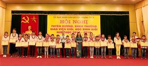 Chất lượng giáo dục huyện Thanh Thủy giữ vững tốp đầu của tỉnh