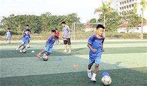 Phú Thọ tuyển sinh lớp năng khiếu bóng đá U11 và U13