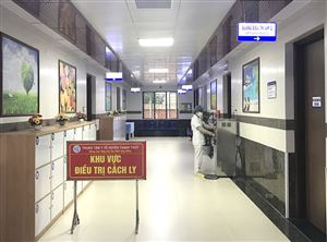 Thanh Thủy phòng, chống dịch bệnh viên phổi cấp
