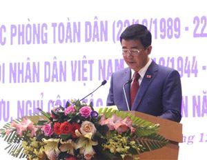 Gặp mặt nhân kỷ niệm 30 năm Ngày hội quốc phòng toàn dân và 75 năm Ngày thành lập QĐND Việt Nam