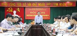Đoàn đại biểu Quốc hội tỉnh trao đổi thông tin trước kỳ họp thứ 6, Quốc hội  khóa XIV