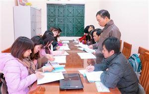 Làm theo lời Bác ở Trường THPT Thanh Thủy