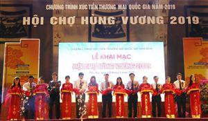 Khai mạc hội chợ Hùng Vương 2019