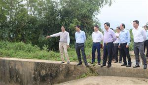 Phó Chủ tịch UBND tỉnh chỉ đạo khắc phục công trình thủy lợi