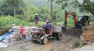 Phát triển giao thông gắn với xây dựng nông thôn mới ở Thanh Thủy