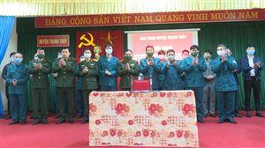 Ban CHQS huyện quán triệt Mệnh lệnh huấn luyện chiến đấu năm 2021