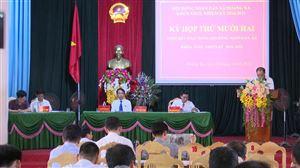 Hội đồng nhân dân xã Hoàng Xá tổng kết nhiệm kỳ 2016 -2021