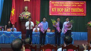 Kỳ họp bất thường HĐND huyện Thanh Thủy khóa XIX