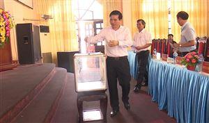 BCH Đảng bộ huyện tổ chức hội nghị bầu chức danh Phó Bí thư Huyện ủy