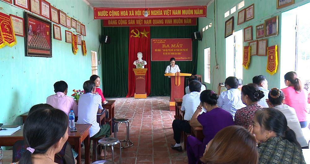"""Tân Phương ra mắt Câu lạc bộ """"An toàn cho phụ nữ và trẻ em"""""""
